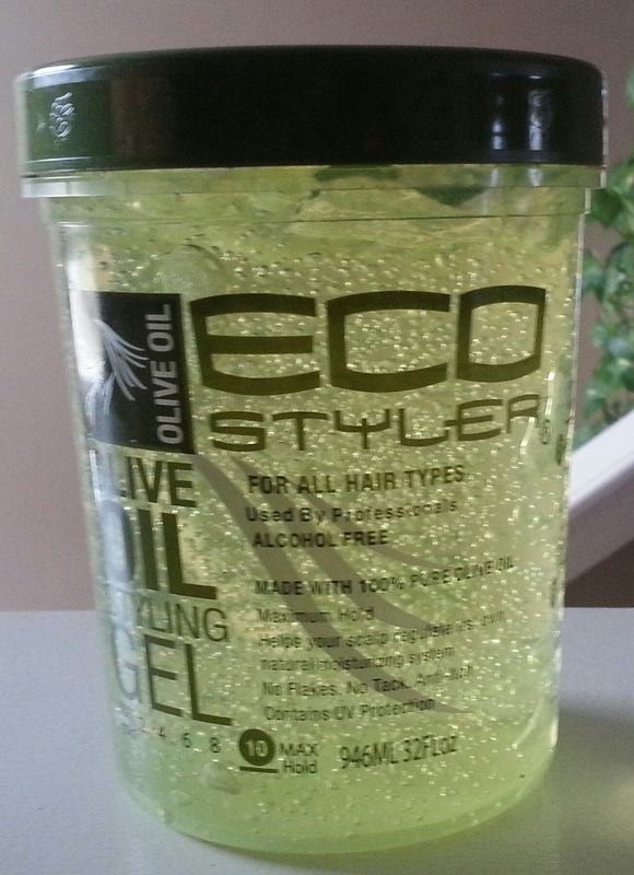 Eco Styler Olive Oil Gel And My Hair